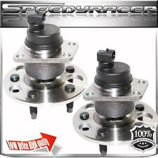 PAIR OLDS SUNFIRE CAVALIER CORSICA ACHIEVA REAR WHEEL HUB BEARING ASSEMBLY ABS
