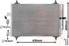 Kondensator, Klimaanlage für Klimaanlage VAN WEZEL 40005286
