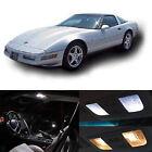 1993-1996 Chevrolet Corvette C4 White Interior LED Lights Package Kit 25 pcs  for sale