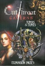 Cutthroat Caverns Expansion 3 Tombs & Tomes (New)