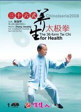 Chineses Kung Taijiquan The 36 form Tai Chi for Health by Zhang Jianping Dvd