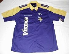 Minnesota Vikings Endzone Shirt 2XL Pit Crew Style NFL Specialty Logos