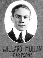 WILLARD MULLIN High School Yearbook SENIOR Year SIGNED