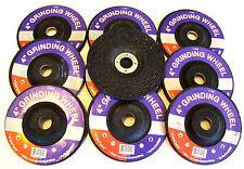 "10  4""  GRINDING WHEELS FITS MAKITA  ANGLE GRINDER ABRASIVE DISC 5/8"" ARBOR"
