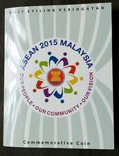 MALAYSIAN 2015 ASEAN  COIN CARD