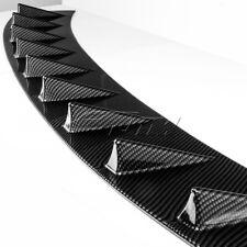 Carbon Look Shark Fin Rear Roof Spoiler Wing For 2016-2018 HONDA CIVIC SEDAN 4DR