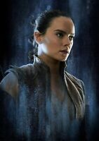 STAR WARS; THE LAST JEDI Movie PHOTO Print POSTER Film Art Rey Daisy Ridley 042