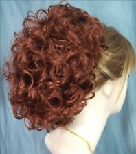 PHOEBE Clip On HairPiece - 130 Copper Red