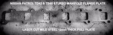 Manifold Header Plate for Nissan Patrol & Ford Maverick (TD42, TB42 & TD45)