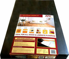 XPS UNDERLAY- LAMINATE/WOOD FLOORING LIGHT FOAM BOARD 5mm -SOUND INSULATION 9.7m