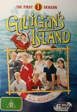 Gilligan's Island Season 1 (DVD, 2004, 6-Disc Set) Bob Denver, Alan Hale comedy