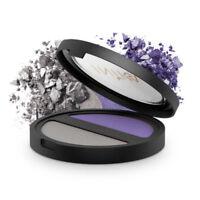 Inika Pressed Mineral Eye shadow Duo - Purple Platinum NEW