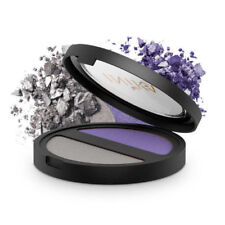 Inika Pressed Mineral Eye shadow Duo - Purple Platinum NEW