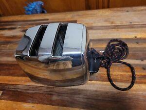 Vintage Sunbeam Model T-20 Auto Drop Radiant Toaster Chrome Works Well