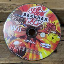 Bakugan Battle Brawlers (Nintendo Wii) Video Game ~ Free Post *DISC ONLY*