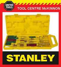 STANLEY 14pce INDUSTRIAL SCREWDRIVER SET IN CARRY CASE