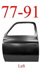 77 91 Chevy Left Truck Door Shell, GMC Blazer Suburban C/K GM1300102