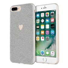 Genuine INCIPIO Design Series iPhone SE 2020 Amour Case Cover Silver Love/Heart