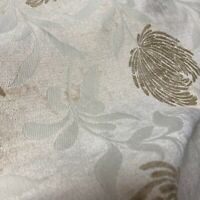 Platinum Silver Satin Look Soft Texture Curtain Fabric Material 137cm wide BR440