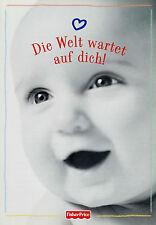 Prospekt Fisher Price Mattel 2001 Babyspielzeug Spielzeugkatalog catalog toys