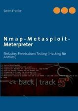 Nmap-Metasploit-Meterpreter (Paperback or Softback)
