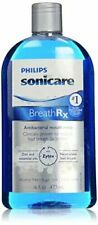BreathRx Philips Sonicare Anti-Bacterial Mouth Rinse 16 Ounce Bottle