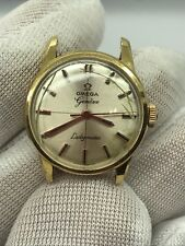 VINTAGE OMEGA LADYMATIC SWISS MADE SOLID GOLD 18K 750 LADIES WATCH