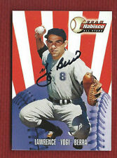 YOGI BERRA Auto Autograph Signed Yankees 2000 NABISCO All Star + BONUS CARD