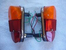 Lucas 647 Rear Stop,Tail and Flasher Lamps for Classic Mini Cooper MK1/MGA--Pair