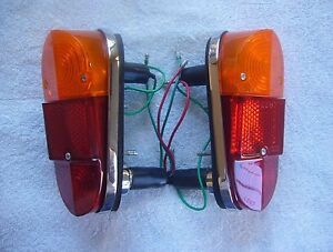Lucas L647 Rear Tail Lamps for Classic Mini Cooper Mk1 and MGA 1600 Mk2--Pair