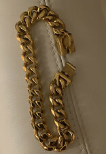 Cuban Link Gold Chain Dog Collar 22mm.