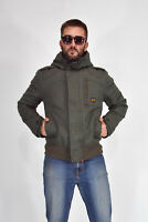 G-STAR Giubbotto Cappotto Coat Jacket Verde Cotone Cotton TG L Man Uomo