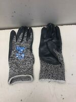 12 Pairs SHOWA GLOVES Size Small 7 Cut Resistant Gloves,Salt/Pepper 230-07