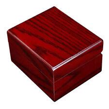 Vintage Portable Wooden Wood Watch Case Wristwatch Box Organizer Storage