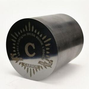 Kohlenstoff Zylinder 99,99% 1kg 90 Durchmesser x 90 mm Länge Elementsammlung