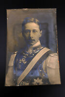 großes Foto Prinz August Wilhelm von Preussen, original um 1910
