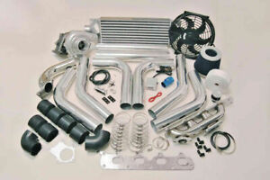 FOR Ford Escort GLX Stainless Steel Turbo Kit T3T4 TurboCharger BIG POWER 485HP