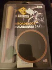 Dead End Game Calls Roadblock Aluminum Turkey Call