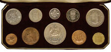 GREAT BRITAIN 10 COINS SET 1953 WITH ORIGINAL BOX  +159