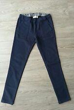 Pantalon slim bleu foncé ZARA 11/12 ans, tbe!