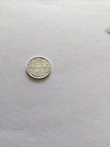 Maundy Coin 3p 1914 Very Fine Nearly U.N.C GradeGeorge V