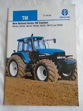 New Holland Series TM Tractors brochure Sep 2002