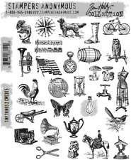 Tim Holtz Cling Rubber Stamps 2017 Tiny Things 2 CMS305 Stampers Anonymous