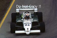 Philippe Alliot Skoal Bandit RAM 02 San Marino Grand Prix 1984 Photograph