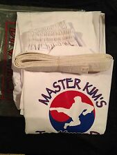 Dynamics World Master Kim's Tae Kwon Do Uniform Adult L Size 5 / 190 Martial Art