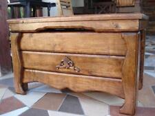 Massive handgemachte Holzkiste Truhe Box Kaffe Tisch Aufbewahrung Deko (AS2)