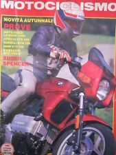 MOTOCICLISMO n°10 1985 Freddie Spencer - BMW K75 750 Kawasaki GPZ 1000 R [P29]