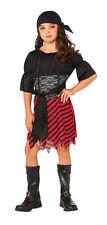 Kids Pirate Girl Costume Caribbean Pirate Size Small 4-6