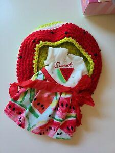 Blythe Doll Neo Designer Watermelon Dress Hat Set