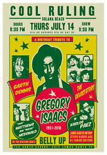 Scrojo Cool Ruling Gregory Isaacs Tribute Belly Up Tavern '11 Poster Dennis_1107